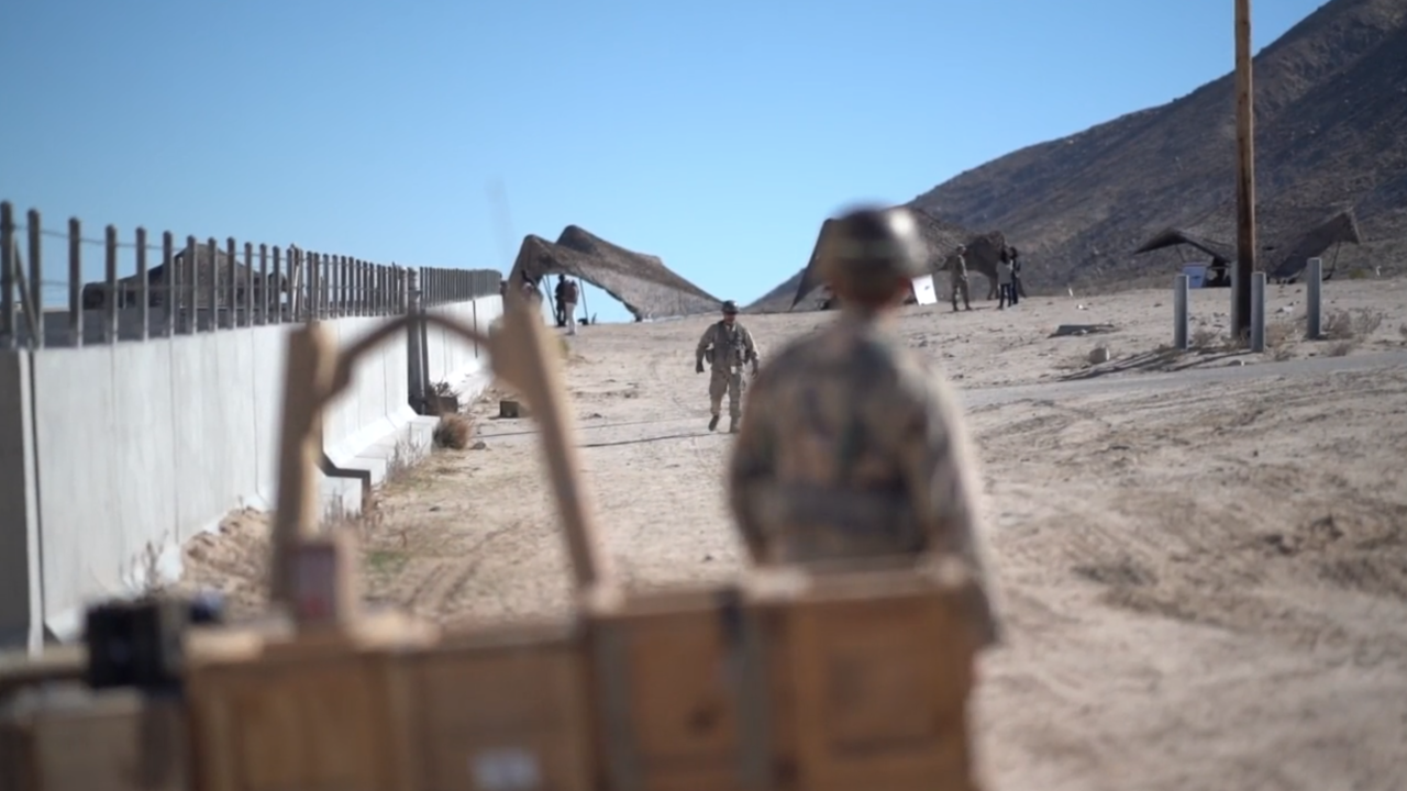 Take a look inside Fort Irwin: The training area where soldiers prepare for foreign war zones