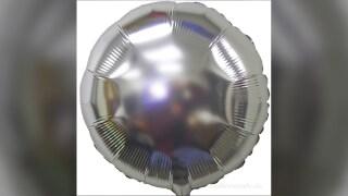 File photo: Metallic balloon