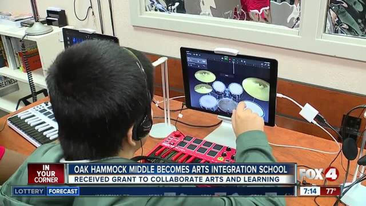Local middle school combines music and learning
