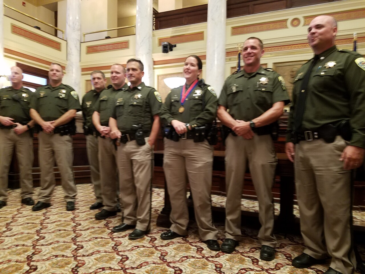 Trooper that rescued DNRC helicopter crew given MHP Medal of Valor