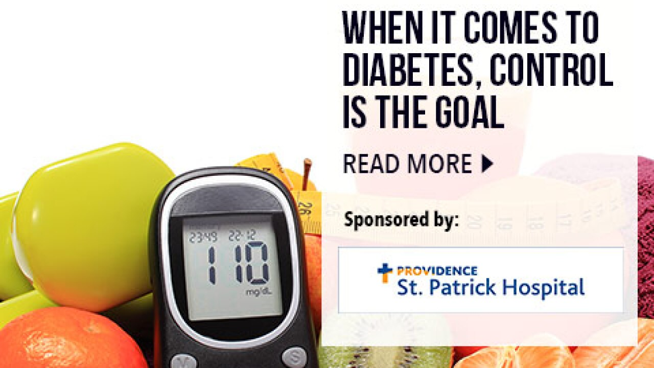 When It Comes To Diabetes, Control Is The Goal