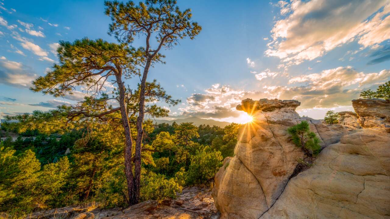 Colorado Springs Sunset Daniel Forster