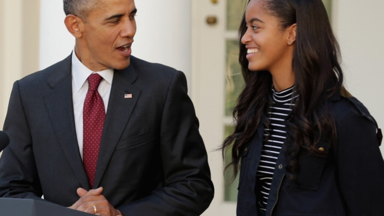 Video of Malia Obama lights up internet