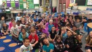 Storm Safe visits Aragon Elementary