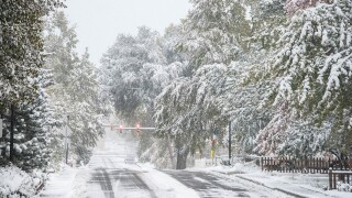 GALLERY: See photos from the snow that fell across the Front Range on Sunday, Oct. 14, 2018