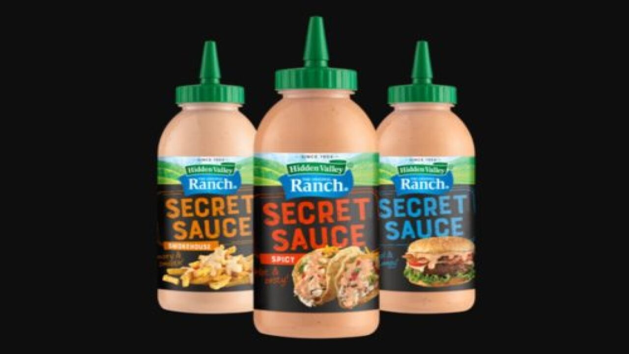 Hidden Valley Ranch Is Debuting Three New 'secret Sauces'