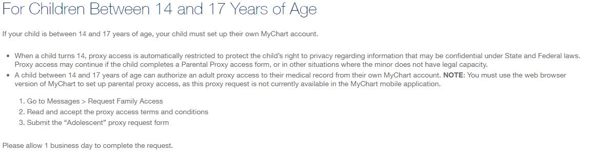 Teen Proxy Access