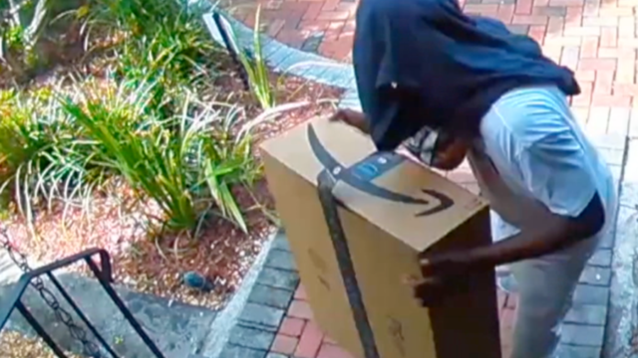 Protect your delivered packages from porch pirates