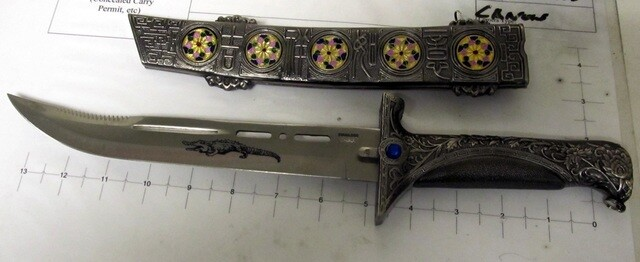 PHOTOS: Peculiar items surrendered to TSA at Cleveland Hopkins International Airport