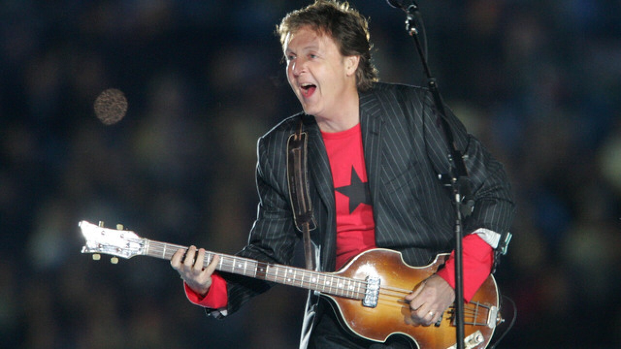 Tickets go on sale for Paul McCartney at Lambeau Field