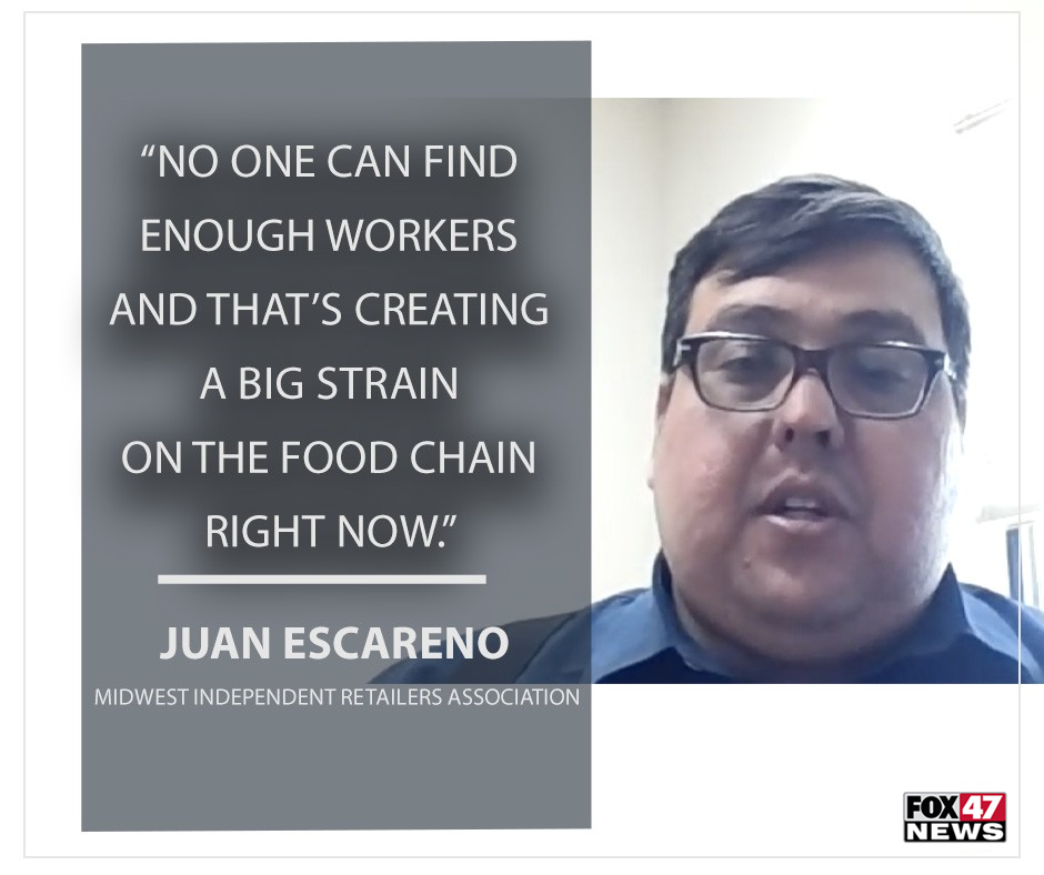 Juan Escarino on the challenge to find workers.