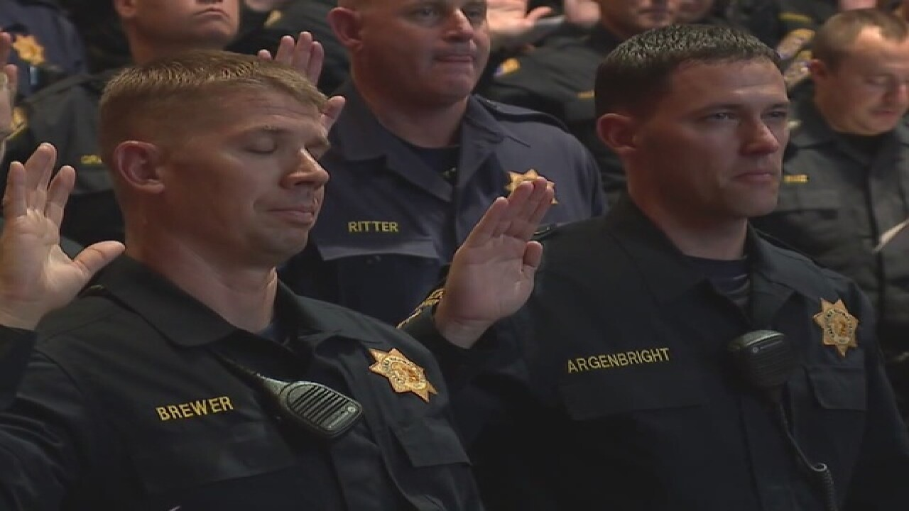 400 officers sworn in ahead of RNC