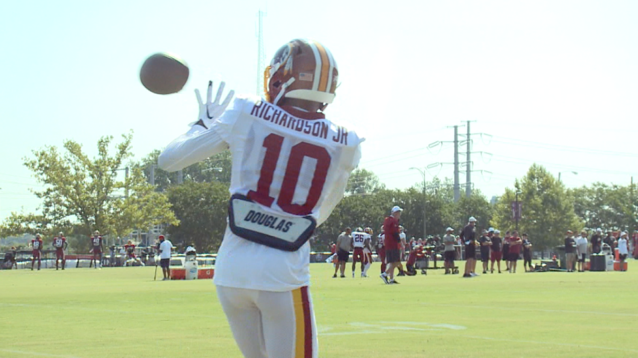Redskins wide receiver Paul Richardson talks 'Skins QB competition, bouncing back frominjury