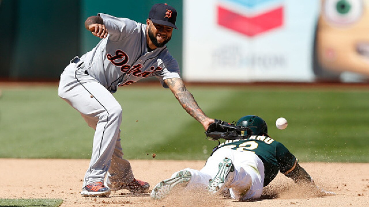 Tigers bats stay cold as they get swept by A's