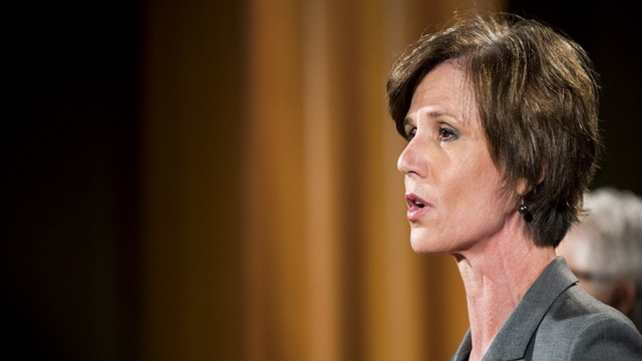Trump fires acting Attorney General Sally Yates