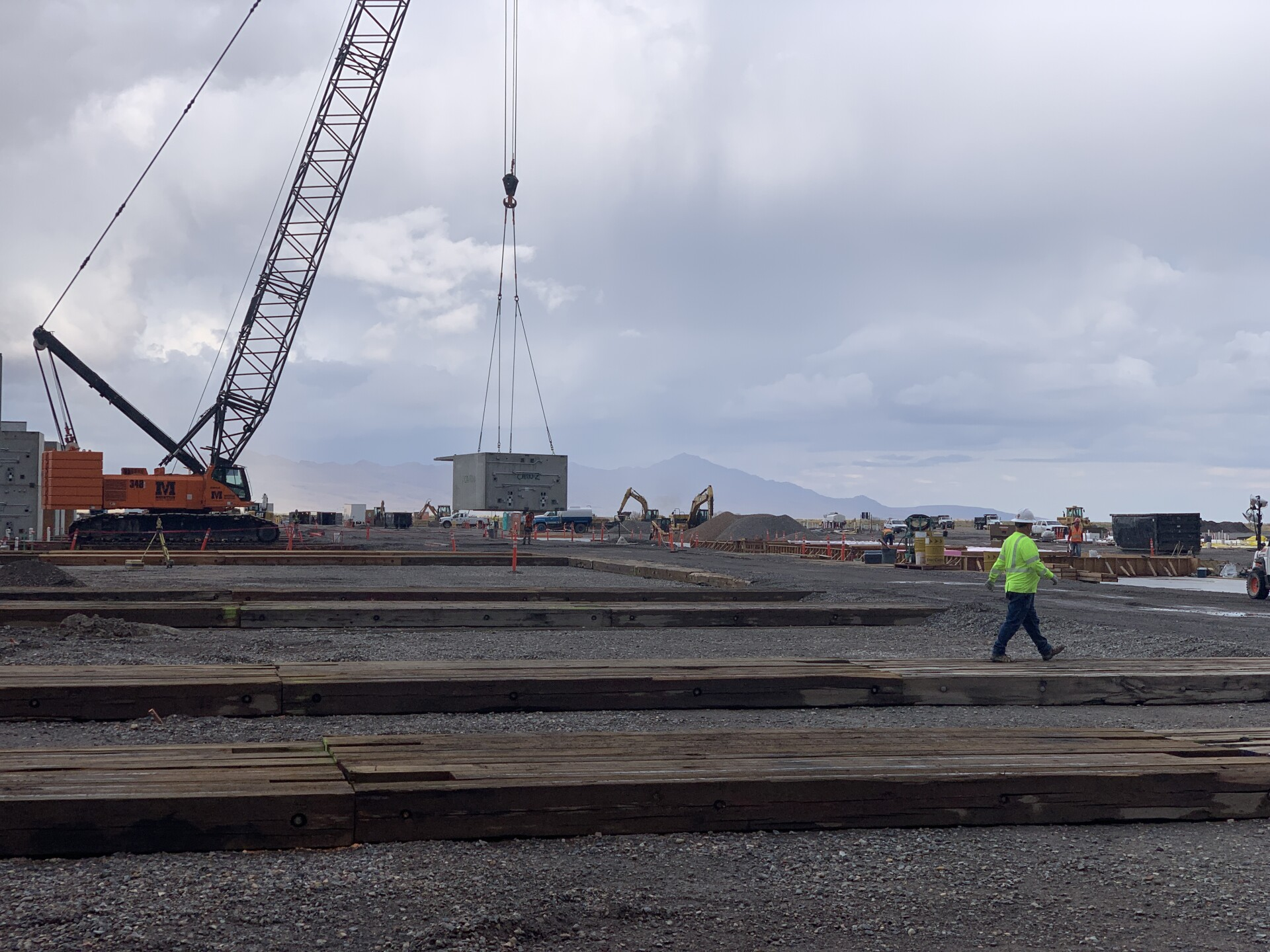 Photos: Buildings are starting to go up at the new Utah State Prison site