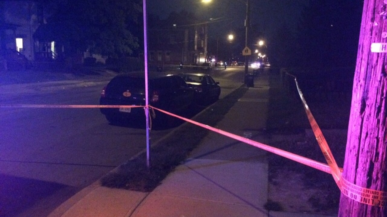 4 men, child shot in 'senseless act'