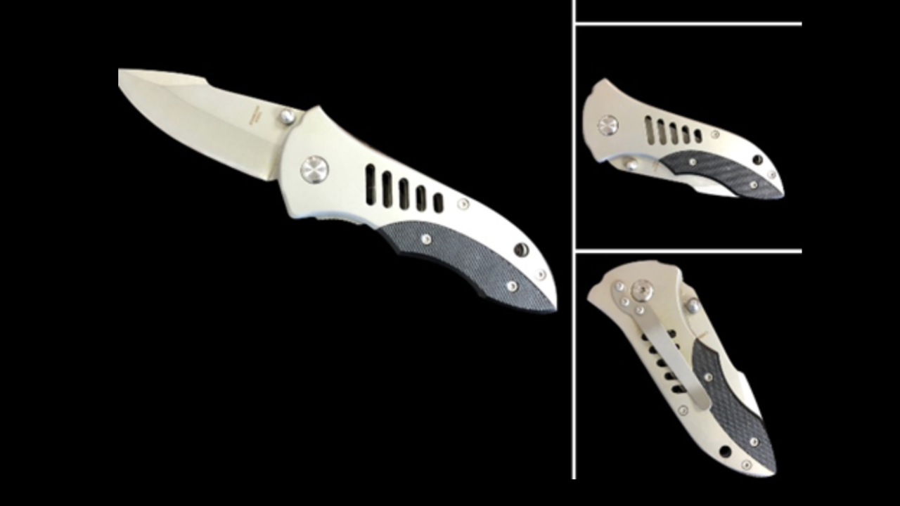 More than 1 million popular knives recalled due to stabbing hazard
