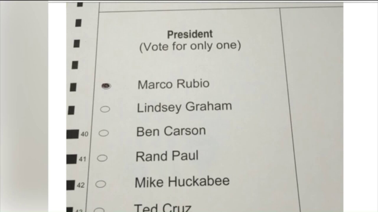 Virginia voter handed ballot that was already filledout