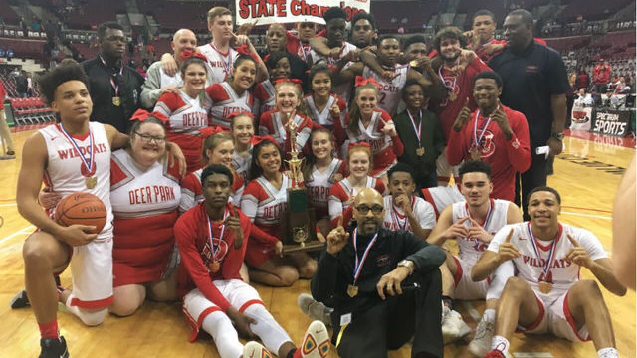 a132c014f505 Deer Park Wildcats rally to cap undefeated season with state championship