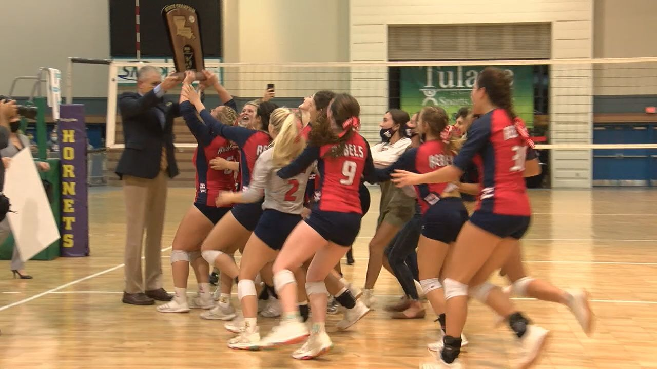 Teurlings Volleyball 2020 title