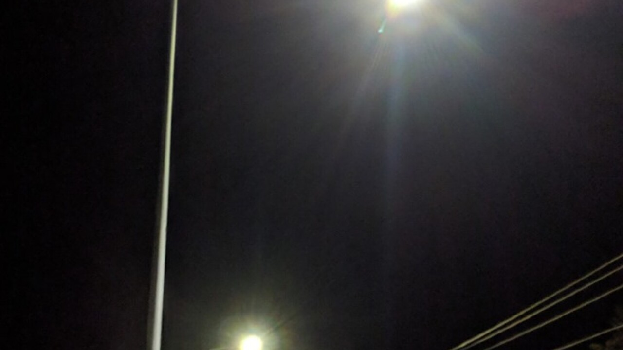 'Brighter than expected:' Love Lane homeowners file petition against new street lights