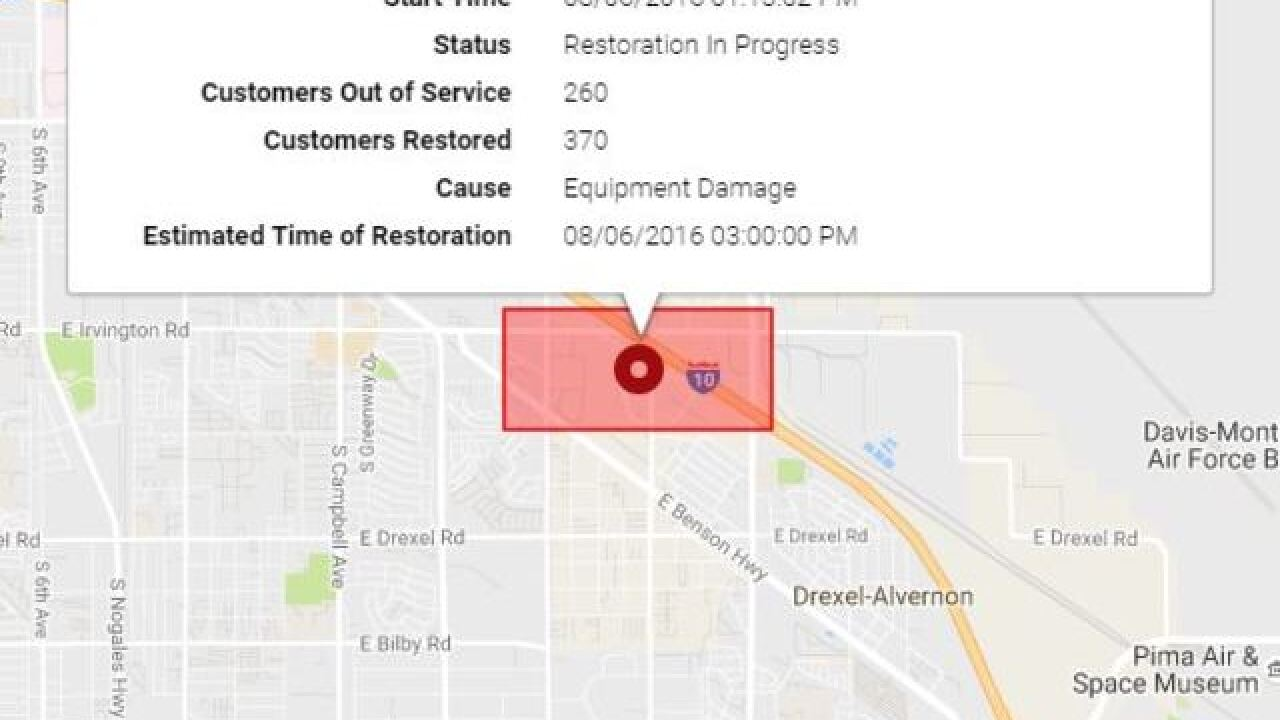 More Than 200 Customers Without Power On Southside