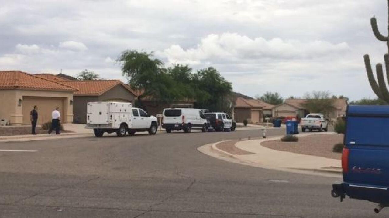 Bomb squad investigates Marana home after death