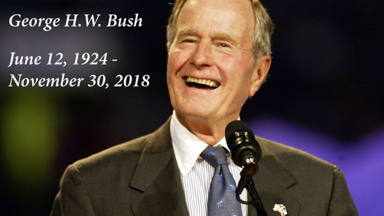 How to Watch the George H.W. Bush Funeral Today