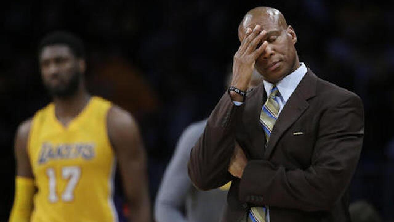 Former Lakers coach Scott 'shocked' over firing