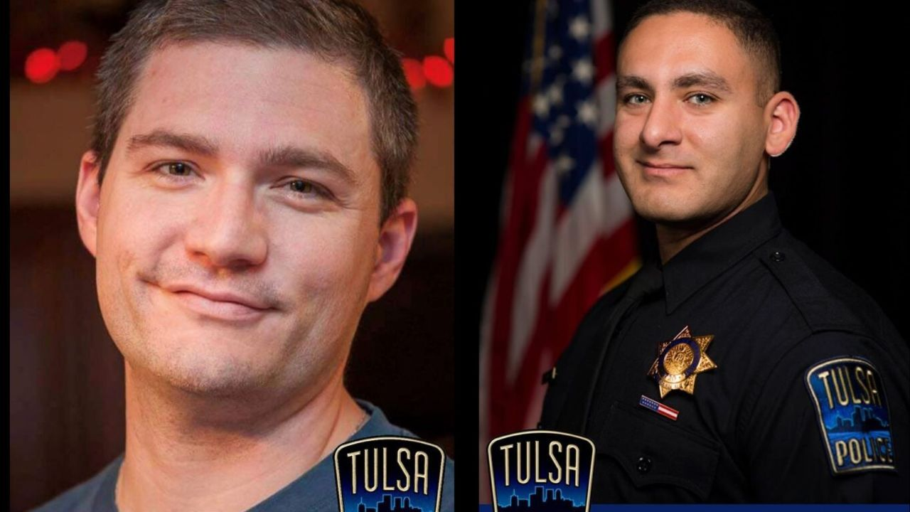 Two Tulsa police officers shot
