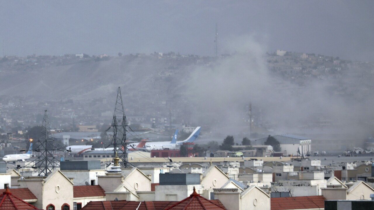 Afghanistan airport explosion