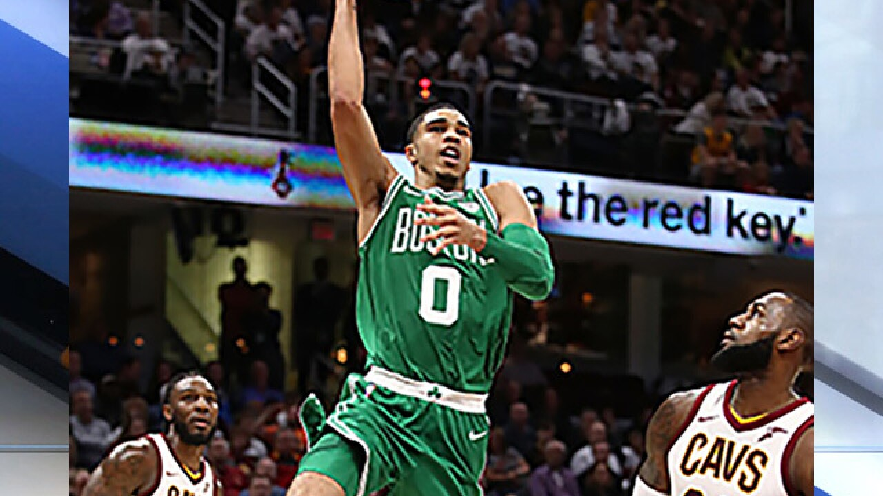 When idols become rivals: Celtics Jayson Tatum to play against LeBron James