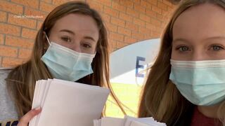CMR student group shows support for healthcare workers