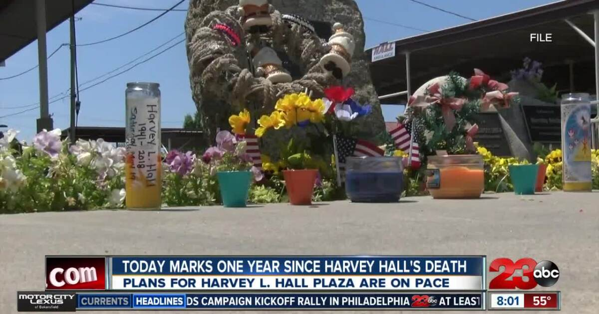 One year anniversary of passing of Harvey Hall