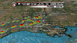Better chance of storms late Thursday; heat builds this weekend
