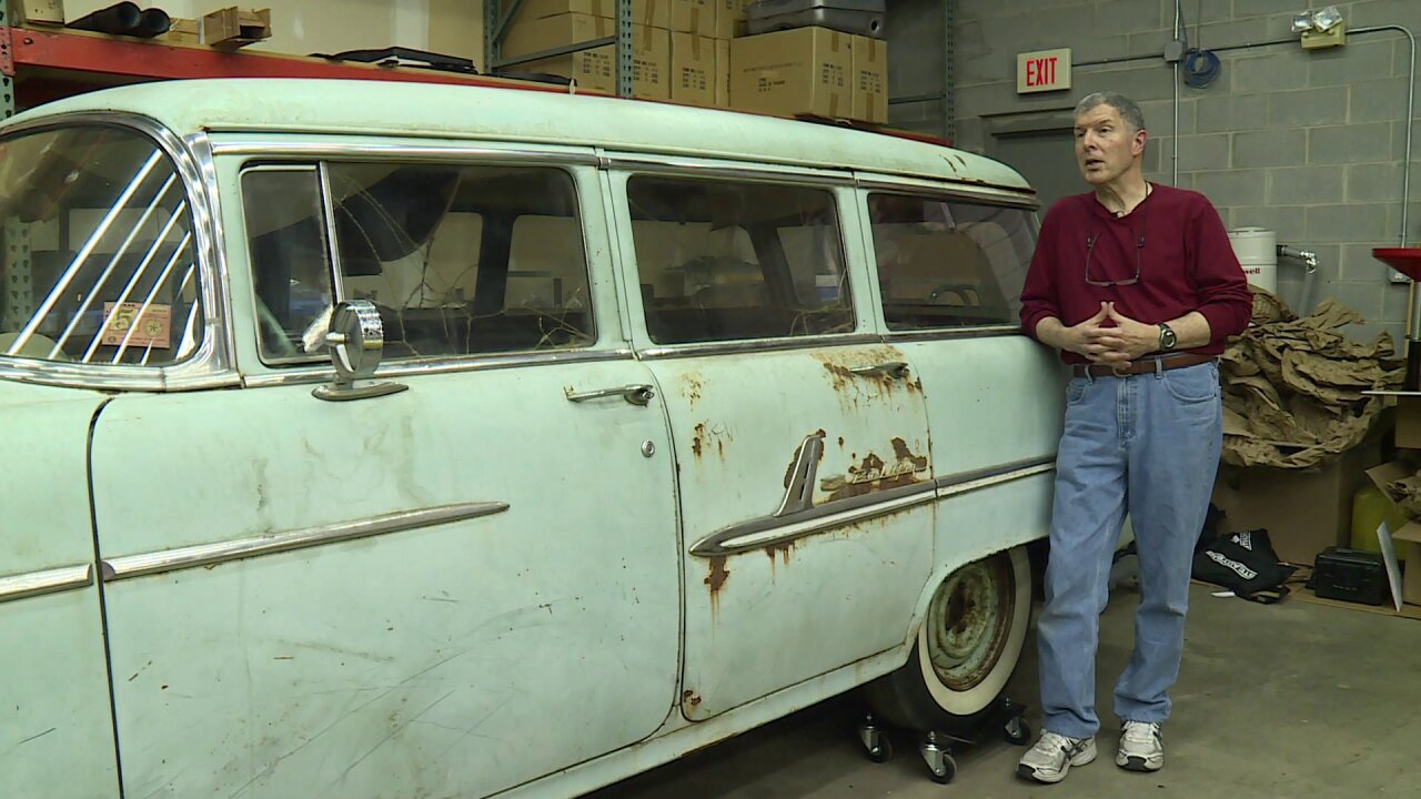 How the car linked to JFK assassination ended up in Chesterfield garage