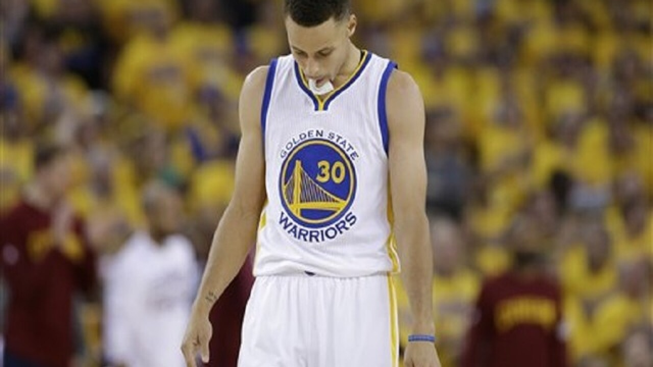 Draymond-less Warriors overwhelmed by Cavaliers in Game 5