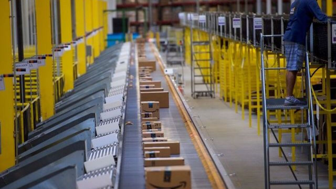 2 dead after Amazon building partially collapses in Baltimore