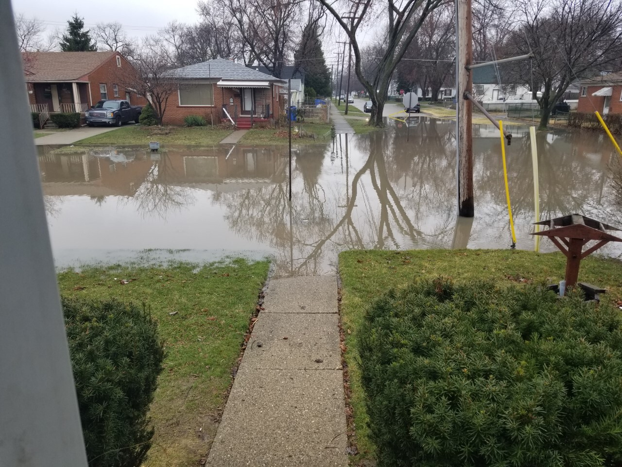 Flooding on Currier Street