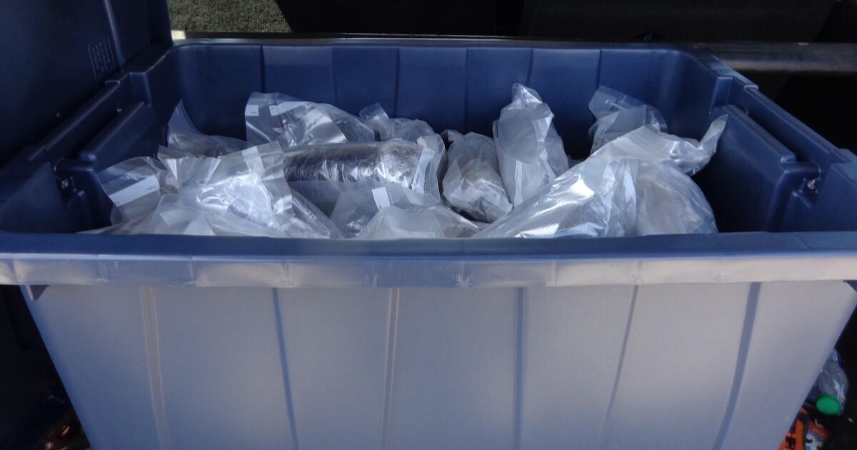 Border Patrol seize bundles of meth in I-5 stop