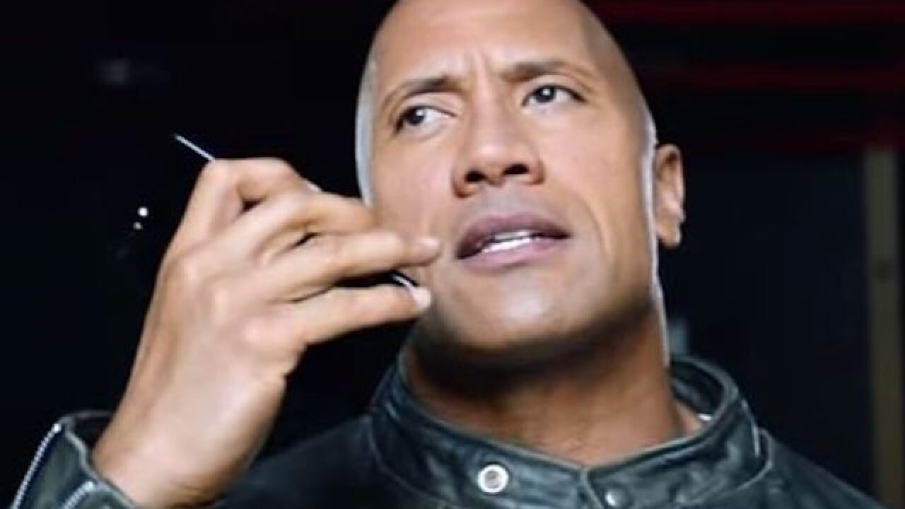 Dwayne Johnson's new 'movie' with Siri