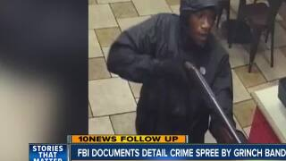 FBI documents detail crime spree by grinch bandits