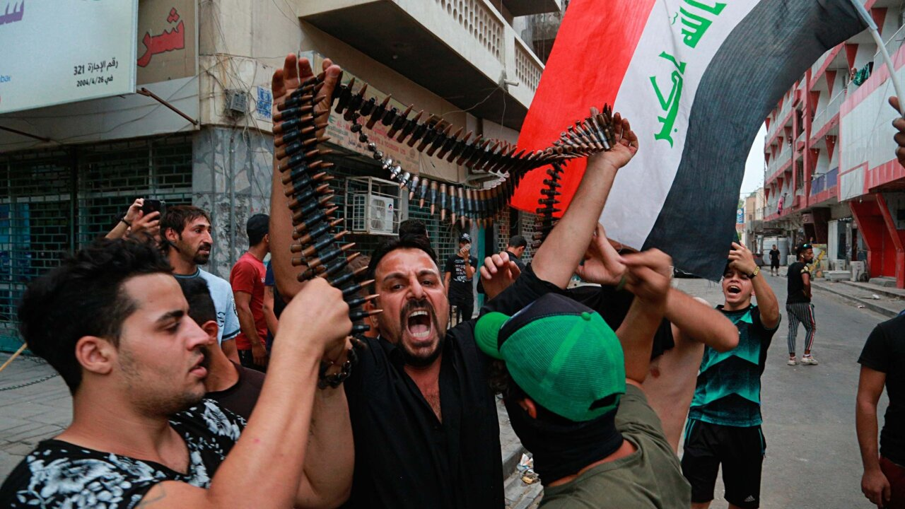 Violent Protests in Iraq