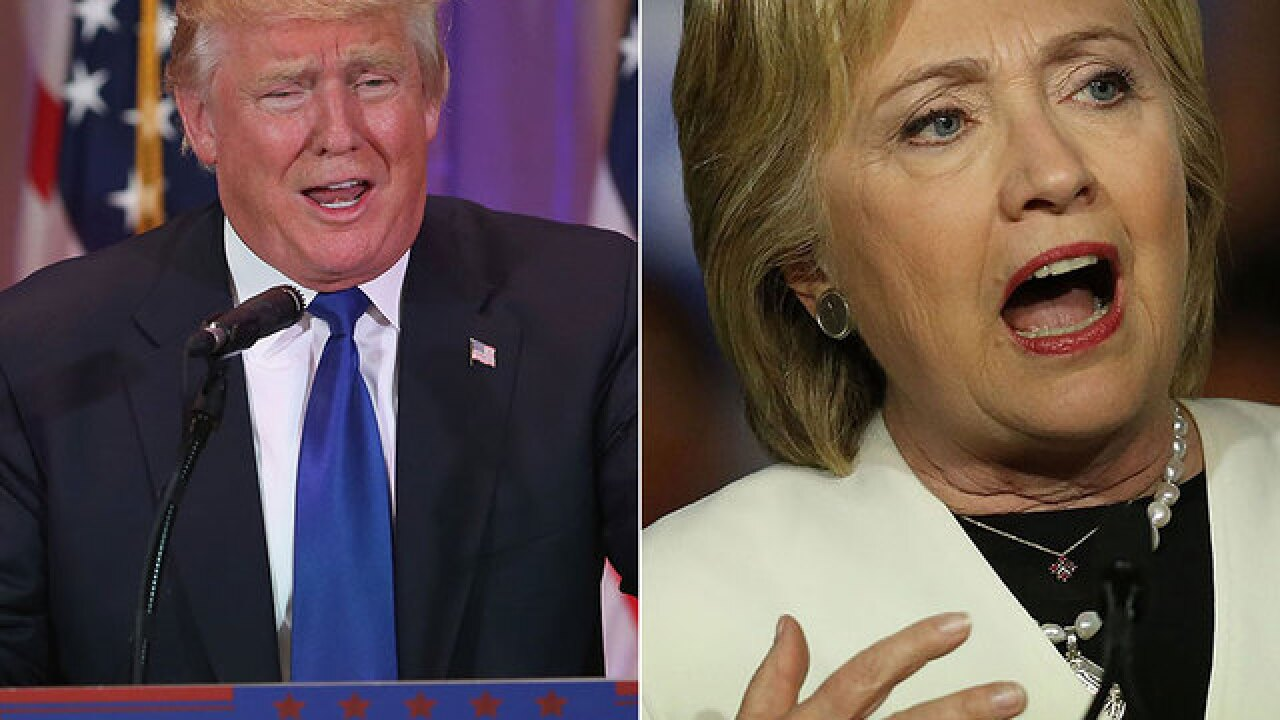 Clinton, Trump to square off in separate speeches