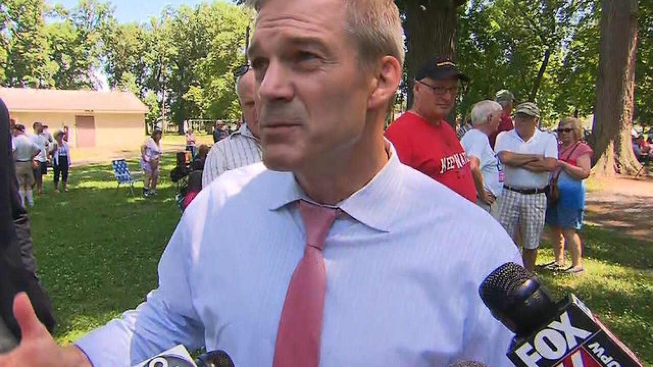 Watchdog calls for investigation on Congressman Jim Jordan