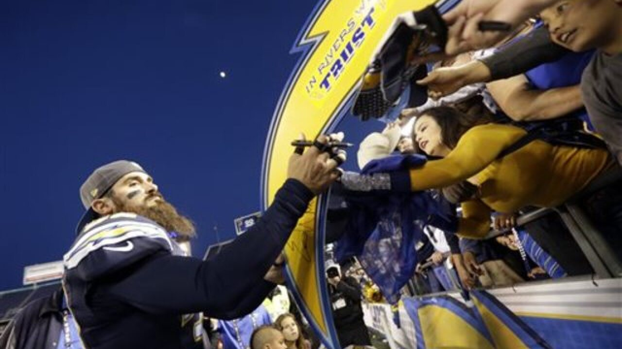 Chargers win in possible farewell to SD game