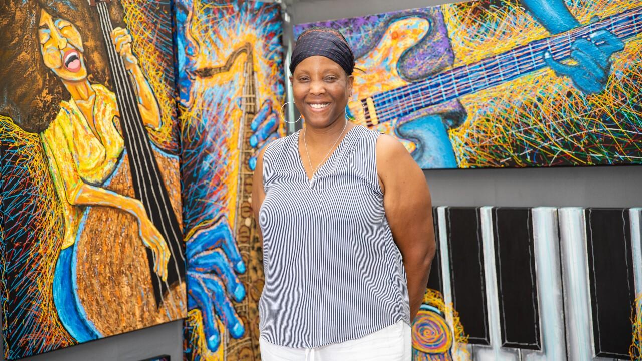 Artist Letitia Lee