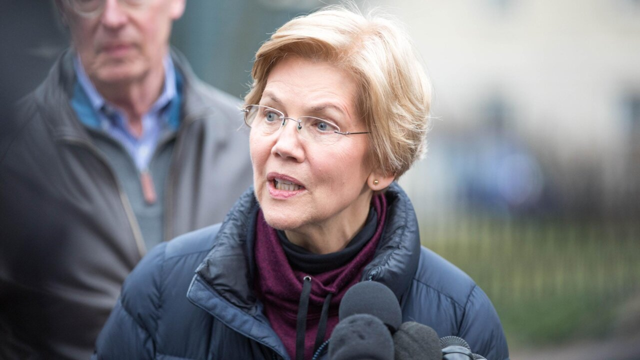 Elizabeth Warren officially launches 2020 campaign
