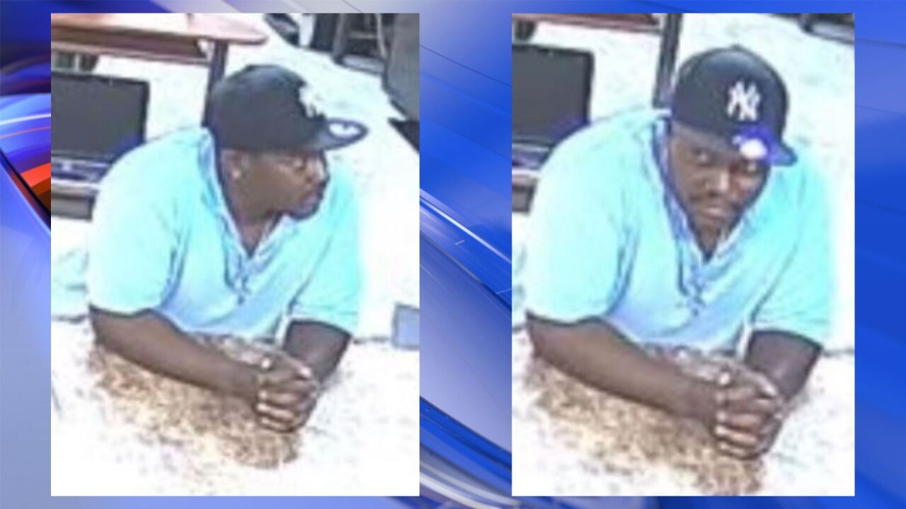 Police: Suspect wanted after grand larceny committed in Norfolk business parking lot